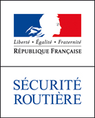 sécurité routière logo